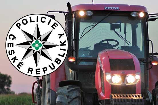 Chtěli traktor, tak ho ukradli. Teď mají dva chmatáci problém