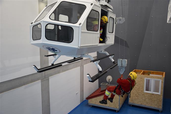Krajští záchranáři pomalu zabydlují výcvikové středisko